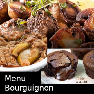 Menu Bourguignon