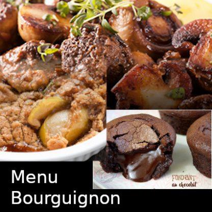 Menu Bourguignon